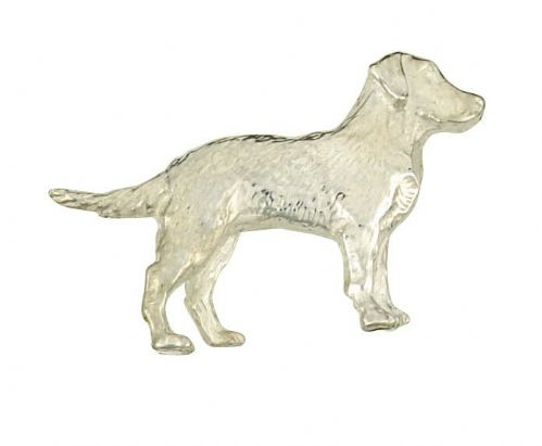 Sterling Silver Dog Brooch Hallmarked British Handmade to Order Boxed